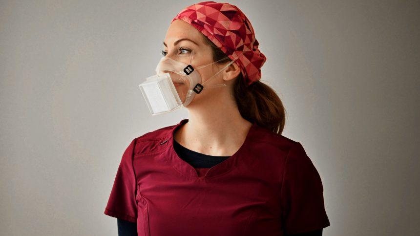 Nouveaux masques N99 réutilisables et écologiques pour les travailleurs de la santé