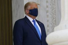 Donald Trump est hospitalisé
