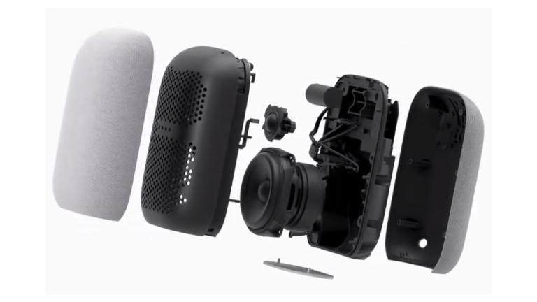 Nest Audio voice assistant speakerphone