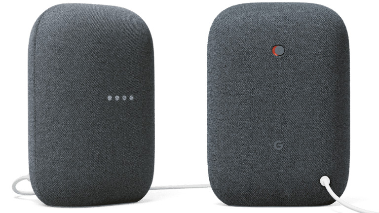 Nest Audio assistant vocal haut-parleur Google