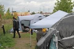 De moins en moins de tentes au campement de Montréal-Nord