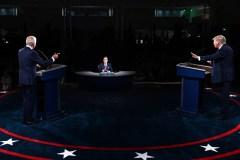 Donald Trump et Joe Biden, le deuxième et dernier duel