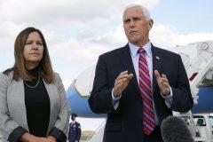 Pence prend les rênes de la campagne républicaine pendant la convalescence de Trump