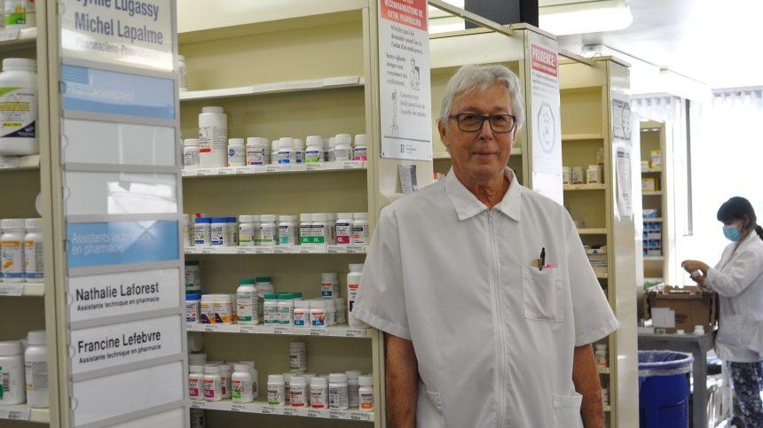 Plus de 50 ans comme pharmacien, un professionnel dévoué