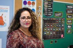 Nahal Derayeh, une enseignante ayant la réussite à cœur
