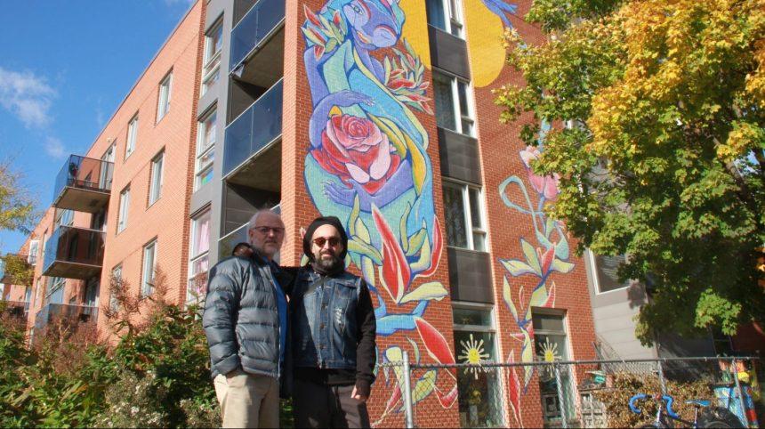 Nouvelles murales à Montréal-Nord