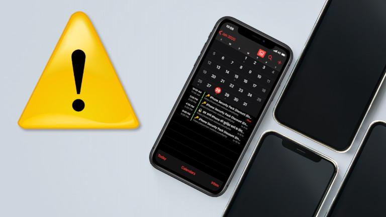 iPhone Calendrier infecté spam comment les retirer