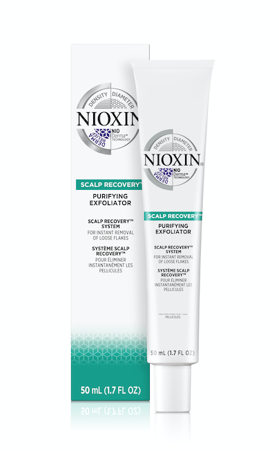 Tube d'exfoliant de la marque Nioxin