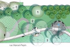 Le futur parc Marcel-Pepin se dévoile
