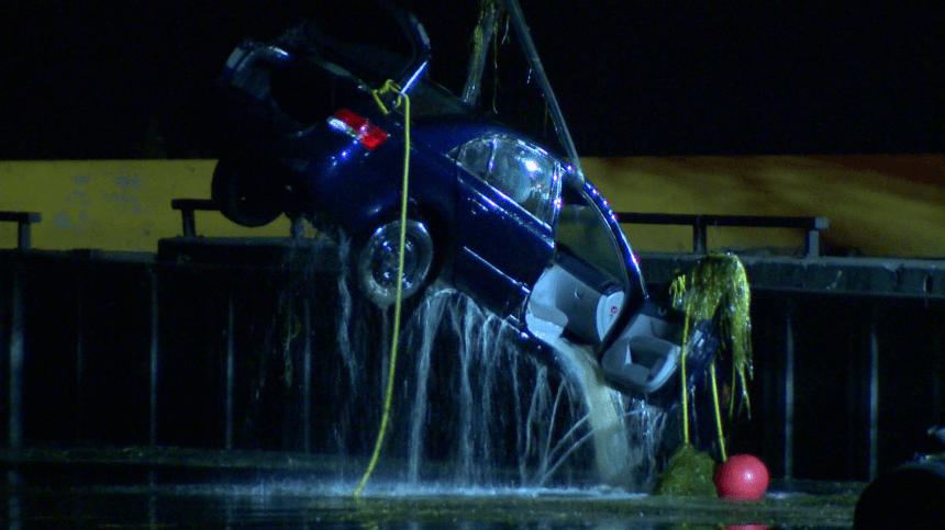 Deux morts dans une voiture repêchée du lac Saint-Louis