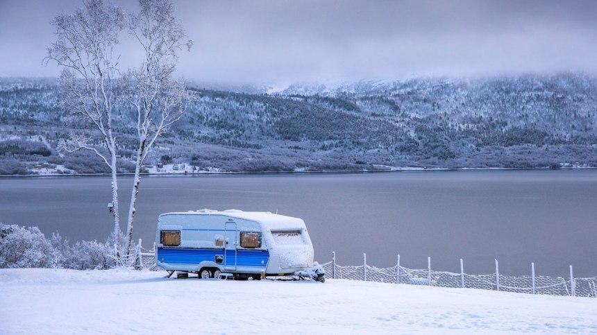 Cette année, tentez l'expérience du camping en hiver avec votre VR