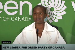 Annamie Paul prend les rênes du Parti vert du Canada