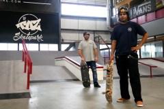Cours de skateboard au secondaire