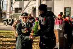 Un jour du Souvenir discret à Montréal-Est