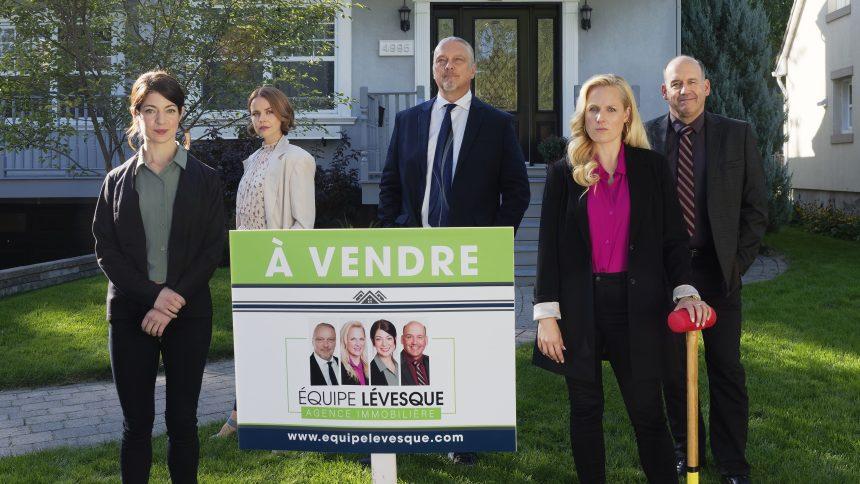 La nouvelle série québécoise de Noovo «Contre-offre» en tournage