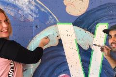 Verdun et ses couleurs mis en valeur avec une nouvelle fresque