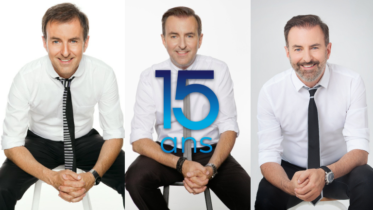 François Charron transformation 15 ans
