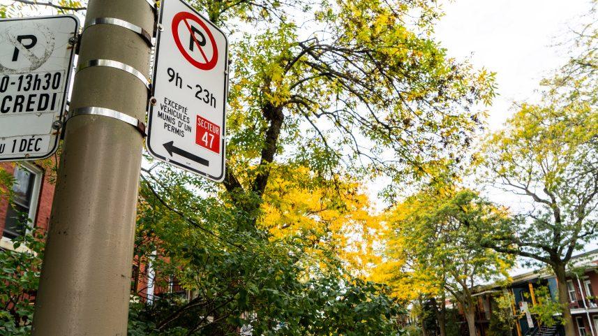 Télétravail: où les Montréalais pourront-ils stationner leur voiture cet hiver?
