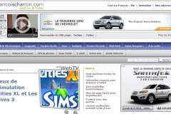 Le lancement de francoischarron.com, 15 ans plus tôt!