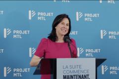 Les militants de Projet Montréal sont très satisfaits, selon Valérie Plante