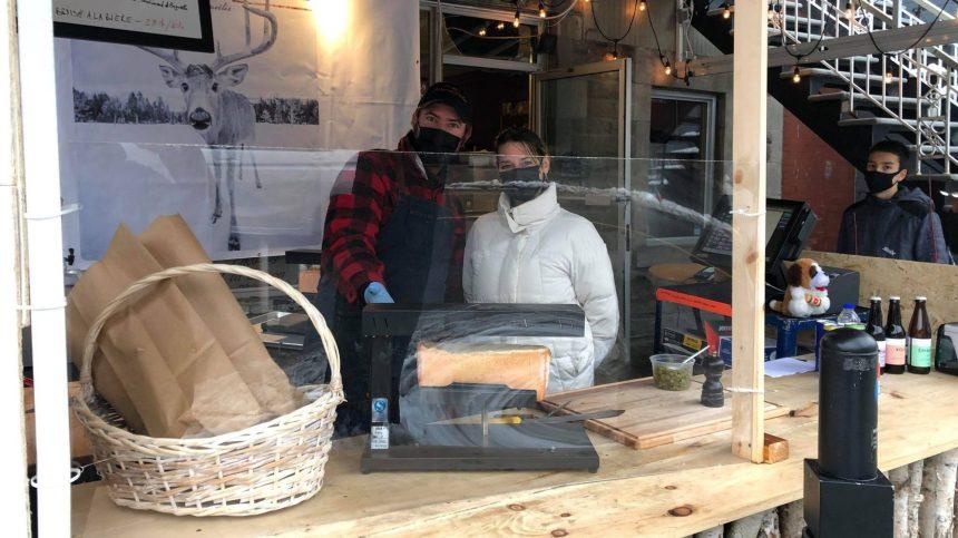 Une cuisine de rue sème la polémique sur l'avenue Mont-Royal