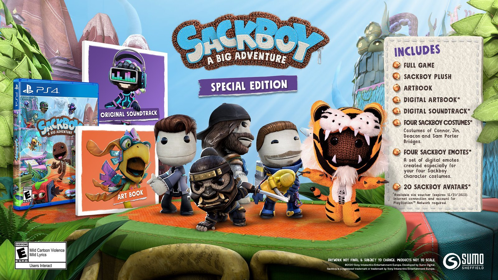 Sackboy: A Big Adventure Buying Guide: Special Edition Is Still Available -  GameSpot