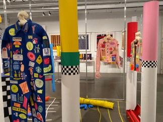 L'expo des finissantes du Centre Design et Impression Textile