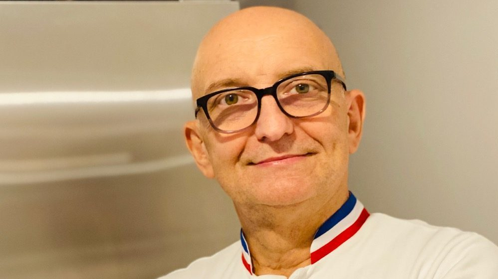 Portrait du chef pâtissier Christian Faure