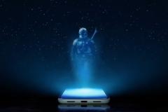 Découvrir le monde de «The Mandalorian» en réalité augmentée