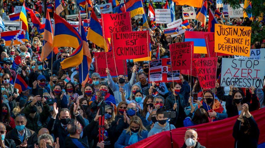Les Arméniens de Montréal unis devant les affrontements du Haut-Karabakh