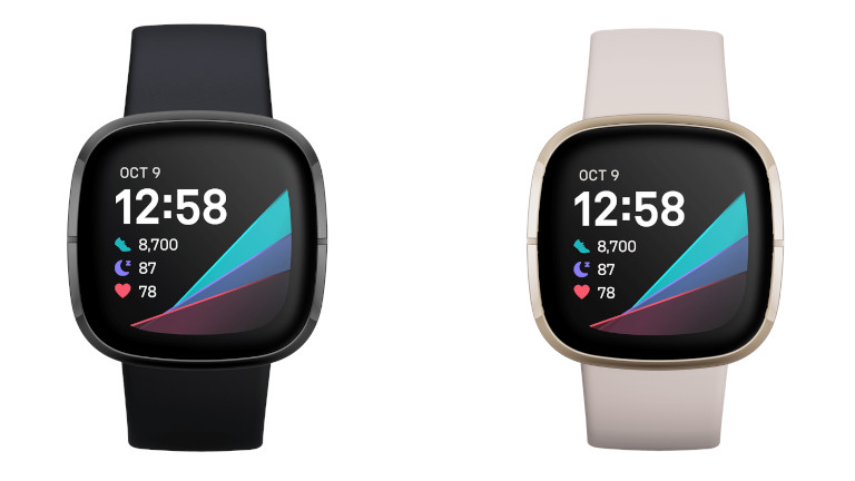 Fitbit Sense montre intelligente couleurs