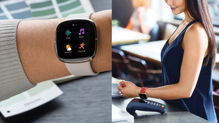Fitbit Sense montre intelligente applications paiements