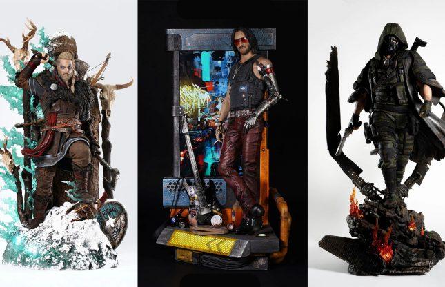 Les 10 plus belles statues du studio PureArts!