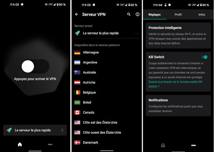 Kaspersky Secure Connection VPN mobile