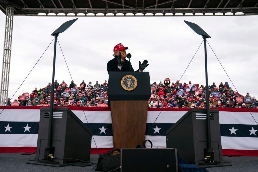 Trump se prêt à contester le vote par correspondance en Pennsylvanie