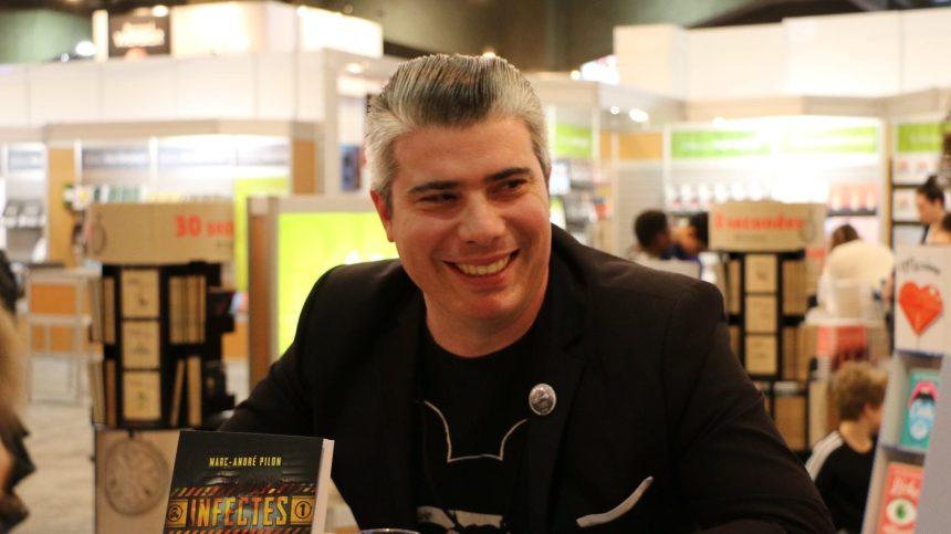 Marc-André Pilon, écrivain multidisciplinaire