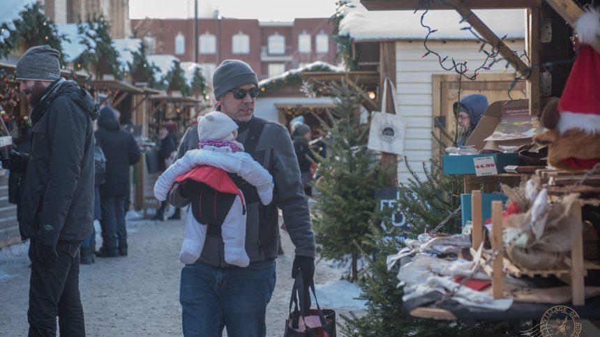 Un Noël «féérique» au marché Jean-Talon