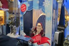 Le père Noël s'adapte à la COVID-19