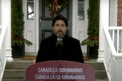 COVID-19: Trudeau invite à la prudence pendant le temps des Fêtes