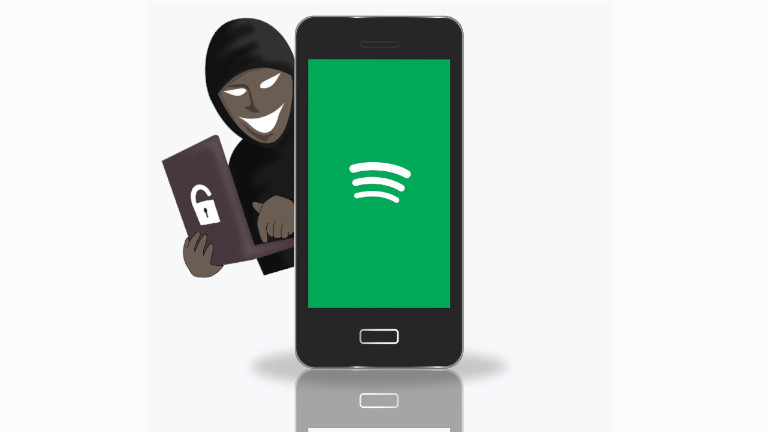 Spotify comptes piratés