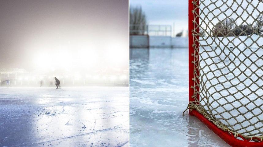 Construisez votre propre patinoire extérieure grâce aux conseils de ce groupe
