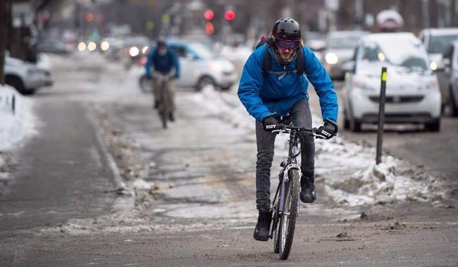 Le vélo d'hiver, toujours plus populaire