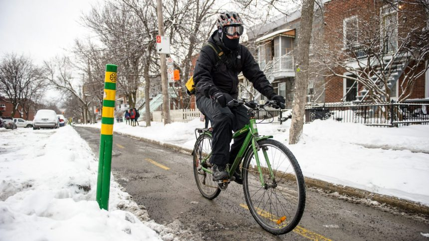 Vélo d'hiver: s'adapter, c'est primordial