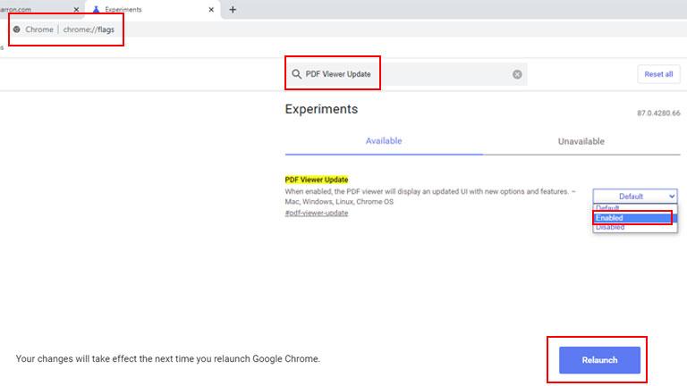 étapes 1 à 3 ouvrir pdf google chrome
