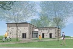 Parc Armand-Bombardier: le chalet sera construit à l'endroit prévu