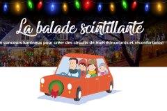 La balade scintillante : une initiative sherbrookoise pour rendre la ville illuminée pour Noël