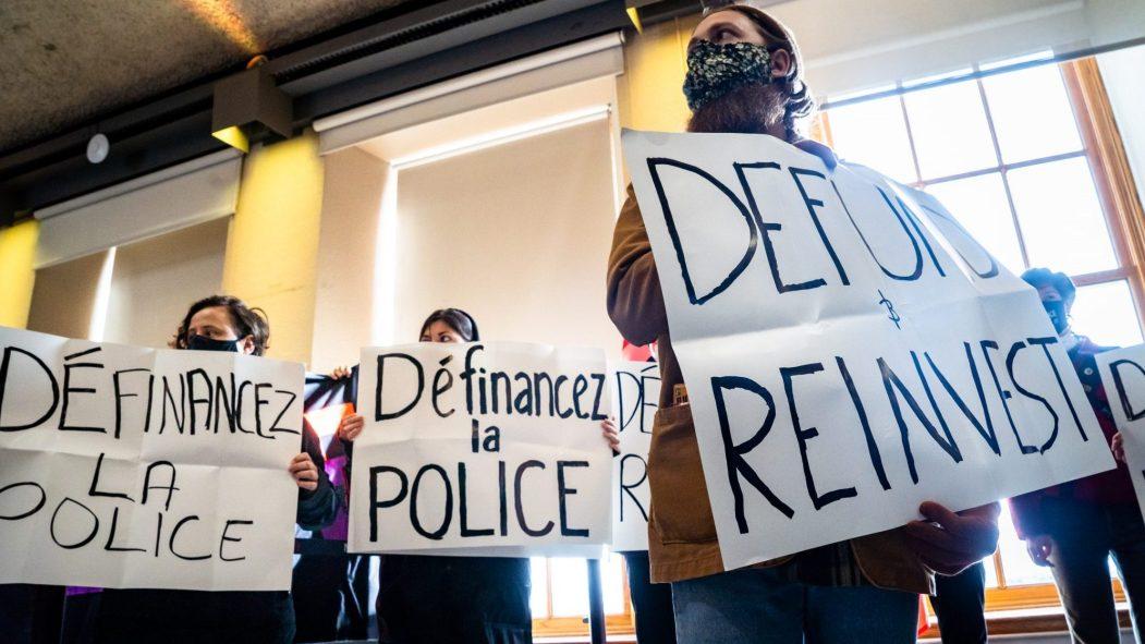 définancement police