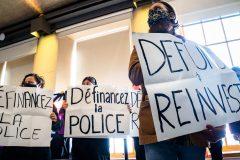 Des élus favorables au «définancement» de la police de Montréal