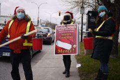 Une guignolée différente à Pointe-aux-Trembles et Montréal-Est