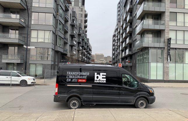 La Behaviour Mobile livre des parkas faites à Montréal aux employés
